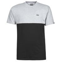 Oblačila Moški Majice s kratkimi rokavi Vans COLORBLOCK TEE Siva / Črna