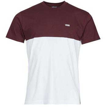 Oblačila Moški Majice s kratkimi rokavi Vans COLORBLOCK TEE Bela