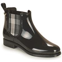 Čevlji  Ženske škornji za dež  Les Petites Bombes RAIN Črna