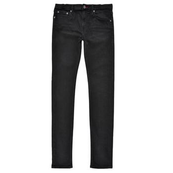 Oblačila Dečki Jeans skinny Teddy Smith FLASH SKINNY Črna