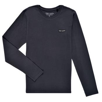 Oblačila Dečki Majice z dolgimi rokavi Teddy Smith T-NARK ML Modra