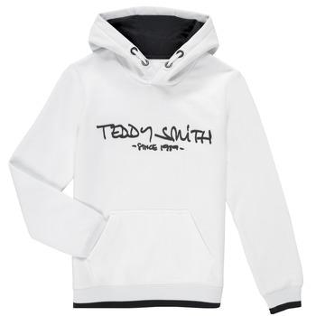 Oblačila Dečki Puloverji Teddy Smith SICLASS HOODY Bela