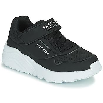 Čevlji  Otroci Nizke superge Skechers UNO LITE Črna