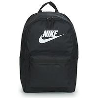 Torbice Nahrbtniki Nike NIKE HERITAGE Črna / Bela