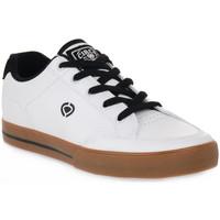Čevlji  Moški Nizke superge C1rca AL 50 SLIM WHITE Bianco