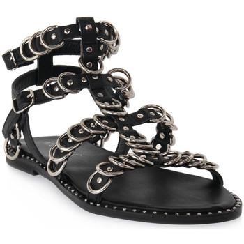 Čevlji  Ženske Sandali & Odprti čevlji Mosaic 3010 VITELLO NERO Nero