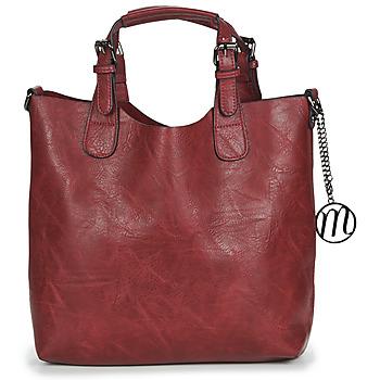 Torbice Ženske Ročne torbice Moony Mood PAPE Bordo