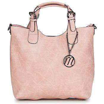 Torbice Ženske Ročne torbice Moony Mood PAPE Rožnata