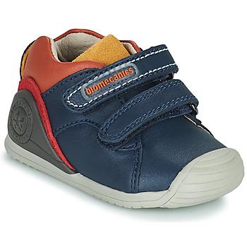 Čevlji  Dečki Nizke superge Biomecanics BIOGATEO CASUAL Modra