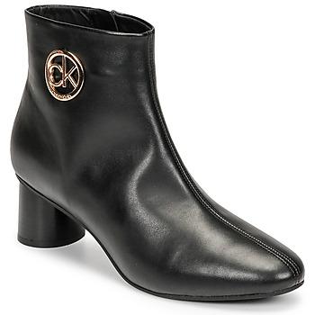 Čevlji  Ženske Polškornji Calvin Klein Jeans CYLINDER ANKLE BOOT Črna