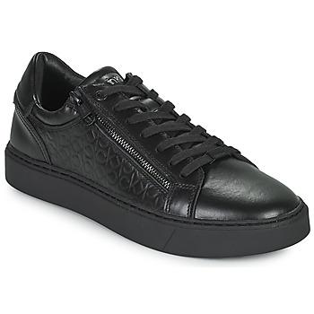 Čevlji  Moški Nizke superge Calvin Klein Jeans LOW TOP LACE UP Črna