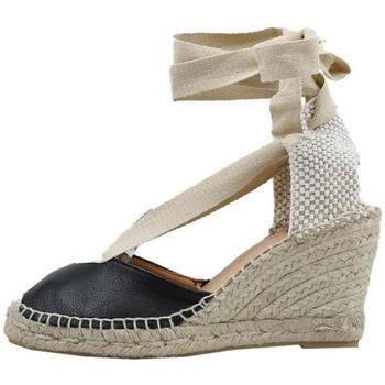 Čevlji  Ženske Espadrile Senses & Shoes  Črna