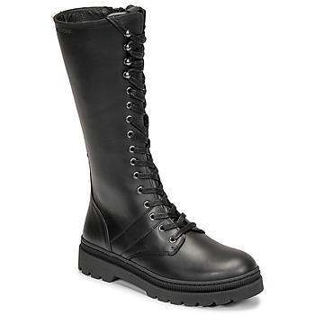 Čevlji  Ženske Mestni škornji    Pataugas MARY Črna