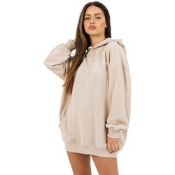 Oblačila Ženske Puloverji Sixth June Robe sweat Femme beige