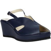 Čevlji  Ženske Sandali & Odprti čevlji Esther Collezioni ZB 115 Modra