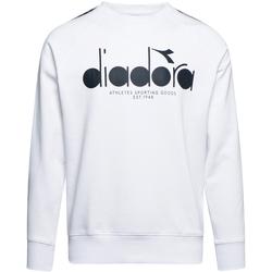 Oblačila Moški Puloverji Diadora 502175376 Biely