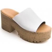 Čevlji  Ženske Natikači Purapiel 71174 WHITE