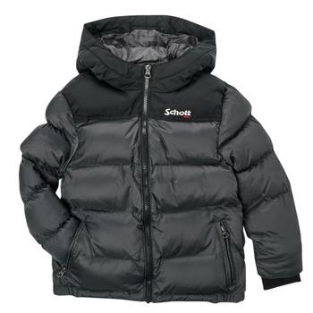 Oblačila Otroci Puhovke Schott UTAH 2 Siva