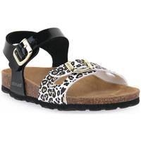 Čevlji  Dečki Sandali & Odprti čevlji Grunland NERO 40 LUCE Nero