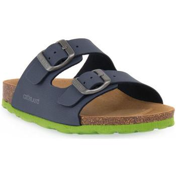 Čevlji  Sandali & Odprti čevlji Grunland BLU LIME 40LUCE Blu