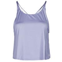 Oblačila Ženske Majice brez rokavov adidas Performance YOGA CROP Vijolična