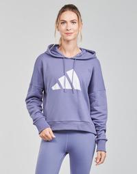 Oblačila Ženske Puloverji adidas Performance WIFIEB HOODIE Vijolična