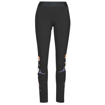 Oblačila Ženske Pajkice adidas Performance FLORL GFX TIGHT Črna