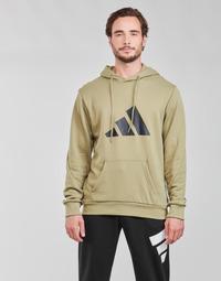 Oblačila Moški Puloverji adidas Performance M FI 3B HOODIE Zelena