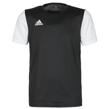 Oblačila Moški Majice s kratkimi rokavi adidas Performance ESTRO 19 JSY Črna