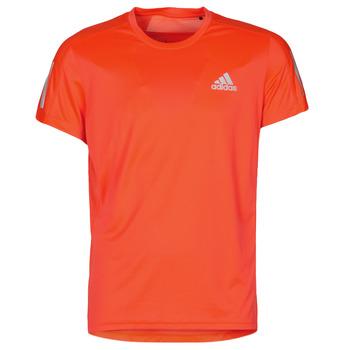 Oblačila Moški Majice s kratkimi rokavi adidas Performance OWN THE RUN TEE  solar / Red