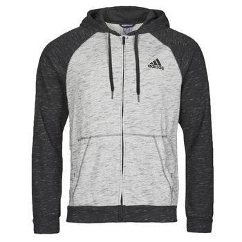 Oblačila Moški Športne jope in jakne adidas Performance M MEL FZ HD Bruyère / Siva