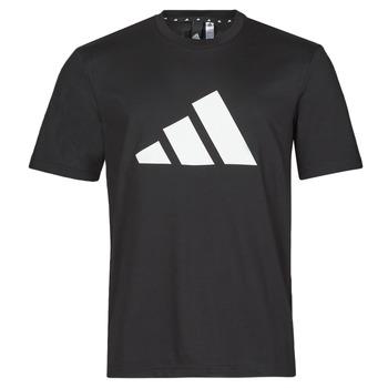 Oblačila Moški Majice s kratkimi rokavi adidas Performance M FI 3B TEE Črna