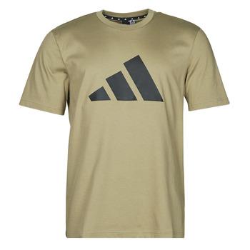 Oblačila Moški Majice s kratkimi rokavi adidas Performance M FI 3B TEE Zelena