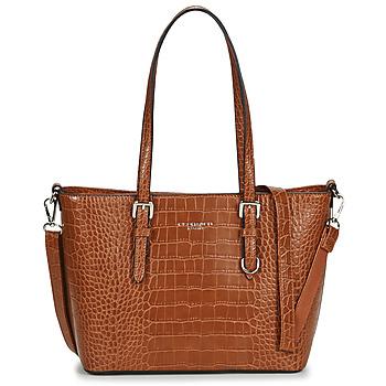 Torbice Ženske Nakupovalne torbe Nanucci 9530 Kamel