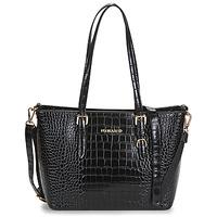 Torbice Ženske Nakupovalne torbe Nanucci 9530 Črna