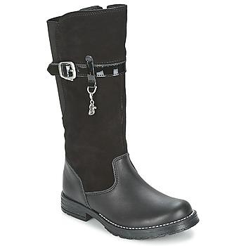 Čevlji  Deklice Mestni škornji    Start Rite AQUA-FELINE Črna
