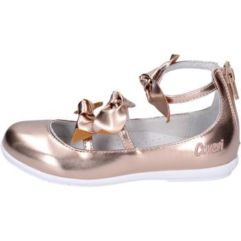 Čevlji  Deklice Balerinke Enrico Coveri BJ979 Roza