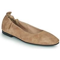Čevlji  Ženske Balerinke Betty London PETRUS Cognac