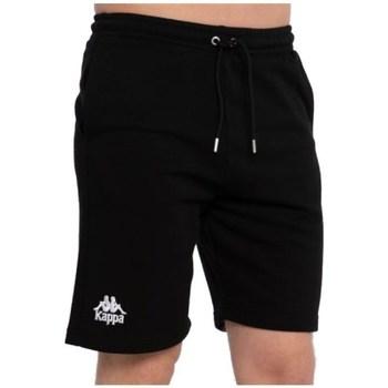 Oblačila Moški Kratke hlače & Bermuda Kappa Topen Shorts Črna