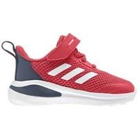 Čevlji  Otroci Tek & Trail adidas Originals Fortarun K Rdeča, Siva