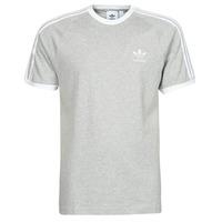 Oblačila Moški Majice s kratkimi rokavi adidas Originals 3-STRIPES TEE Bruyère / Siva