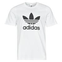 Oblačila Moški Majice s kratkimi rokavi adidas Originals TREFOIL T-SHIRT Bela