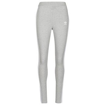Oblačila Ženske Pajkice adidas Originals 3 STRIPES TIGHT Bruyère / Siva