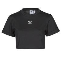 Oblačila Ženske Majice s kratkimi rokavi adidas Originals TEE Črna