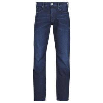 Oblačila Moški Jeans straight G-Star Raw 3301 STRAIGHT Modra