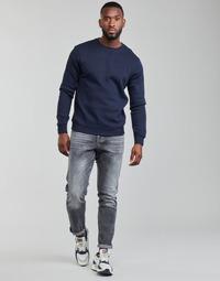 Oblačila Moški Jeans straight G-Star Raw 3301 STRAIGHT TAPERED Siva