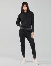 Oblačila Ženske Puloverji G-Star Raw PREMIUM CORE HOODED SW WMN LS Črna