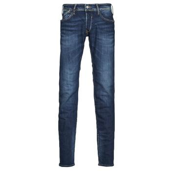 Oblačila Moški Kavbojke slim Le Temps des Cerises 712 BAS Modra