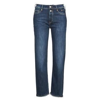 Oblačila Ženske Jeans 3/4 & 7/8 Le Temps des Cerises 400/18 BASIC Modra