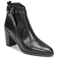 Čevlji  Ženske Mestni škornji    Philippe Morvan BERRYS Črna